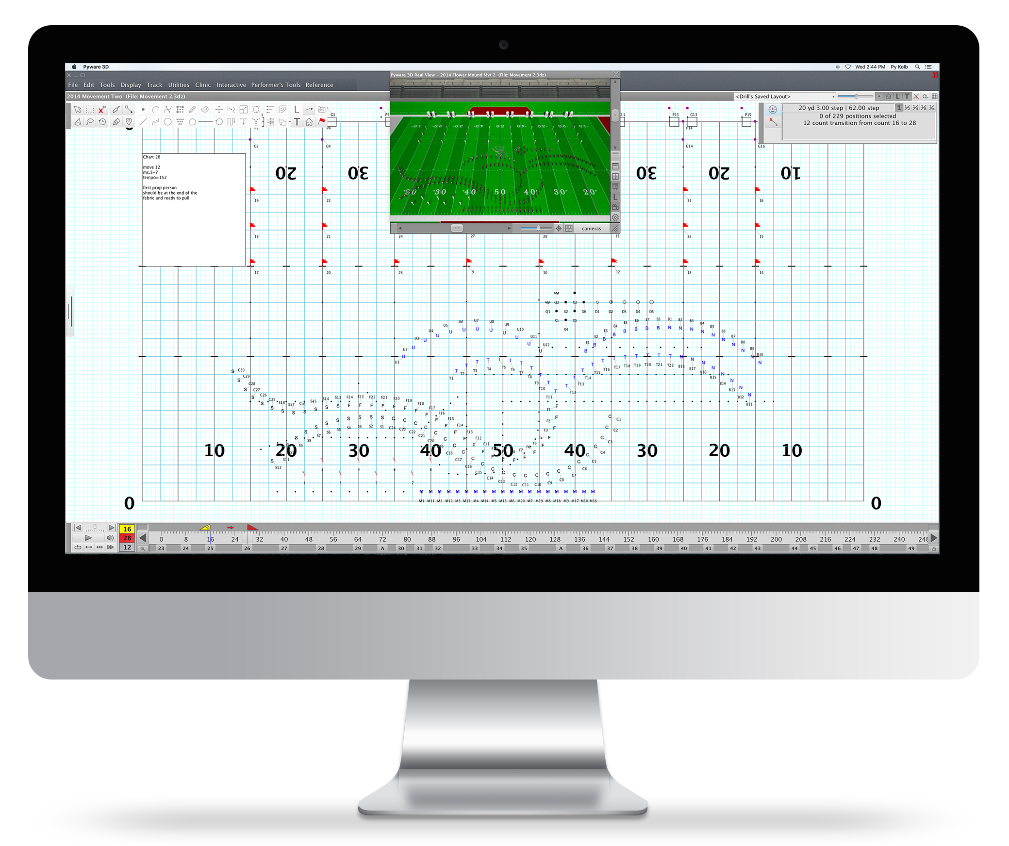 Pyware 3d Marching Drill Design Software