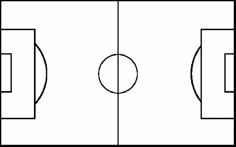 Priceless image in printable soccer field