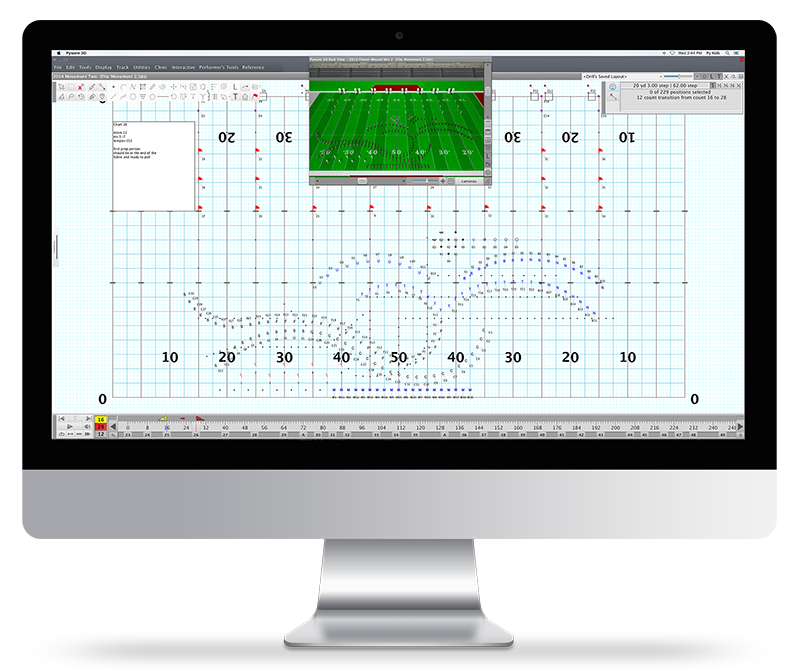 Pygraphics Inc Pyware 3d Drill Design Software For Marching Ensembles